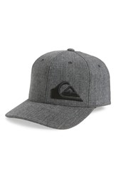 Quiksilver Final Baseball Cap Charcoal Heather