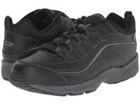 Easy Spirit Romy Black Leather Women's Walking Shoes