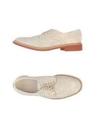 Preventi Lace Up Shoes Light Grey