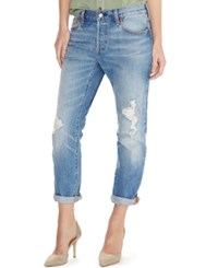 Levi's 501 Ct Customized Tapered Boyfriend Jeans Morning Haze