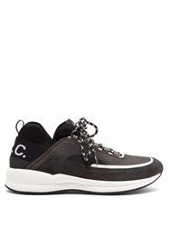 A.P.C. Alexander Low Top Mesh Trainers Black
