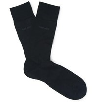 Hugo Boss George Mercerised Cotton Socks Navy