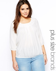 Junarose Bubble Hem Top