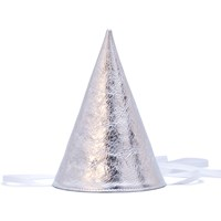 Otaat Party Hat Silver