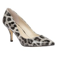 Lotus Eugenio Leopard Shiny Heels Grey