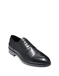Cole Haan Henry Grand Cap Toe Oxfords Black
