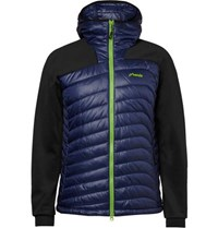 Phenix Snow Force Panelled Shell And Jersey Mid Layer Jacket Navy
