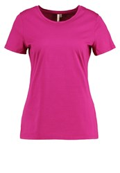 Banana Republic Basic Tshirt Bright Sangria Pink