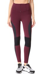 Free People Movement Cool Rider Leggings Red Combo