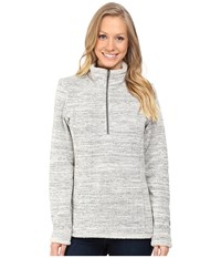 Kuhl Alska 1 4 Zip Ash Women's Long Sleeve Pullover Gray