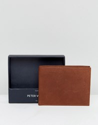 Peter Werth Wallet In Tan Tan