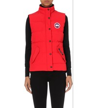 Canada Goose Freestyle Quilted Gilet Red
