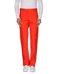 Aspesi Trousers Casual Trousers Men Red