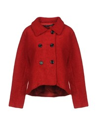 Guess Coats Red