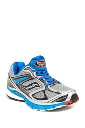 Saucony Guide Guidance Running Sneaker Wide Width Available Gray