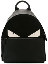 Fendi Bag Bugs Backpack Black