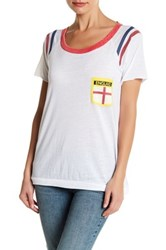 Chaser Short Sleeve Front Patch England Graphic Shirt Multi