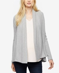 A Pea In The Pod Maternity Open Front Cardigan Grey