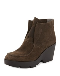 Treat Wedge Desert Boot Surplus Gray Eileen Fisher