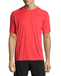 Asics Favorite Short Sleeve Tee Red Heat