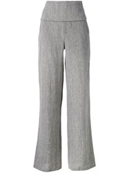 Societe Anonyme Smoking Palace Wide Leg Trousers Grey