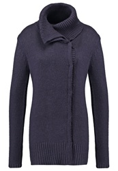 Kiomi September Cardigan Graphit Anthracite