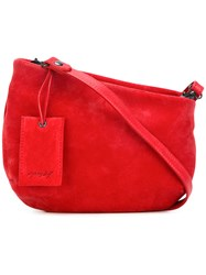 Marsell Classic Crossbody Bag Red