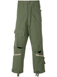 Alpha Industries Military Trousers Green