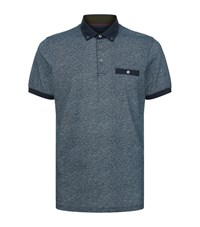 Ted Baker Teller Printed Polo Shirt Male Blue