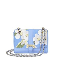 Aspinal Of London Letterbox Chain Bag Light Blue