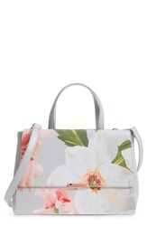 cd6094112 Ted Baker London Peobe Chatsworth Bloom Faux Leather Satchel