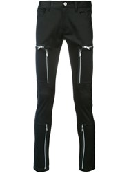 Undercover Zip Pocket Trousers Black