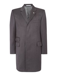Chester Barrie Topcoat Charcoal