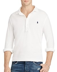 Polo Ralph Lauren Featherweight Mesh Slim Fit Shirt White