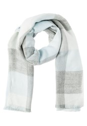 Mintandberry Scarf Taupe Navy Offwhite
