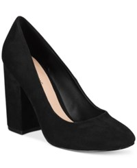 Call It Spring Agrawilia Block Heel Pumps Women's Shoes Black