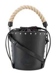 J.W.Anderson Studded Bucket Bag Black