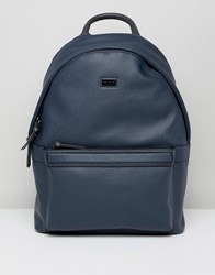 Ted Baker Sagrada Backpack In Crossgrain Navy