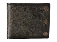 John Varvatos Slim Billfold Black Bill Fold Wallet