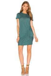 Stateside Knotted Mini Dress Green