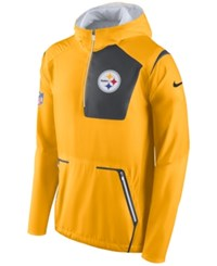Nike Men's Pittsburgh Steelers Alpha Fly Rush Jacket Brown