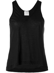 Forte Forte V Neck Tank Top Women Cotton Ii Black
