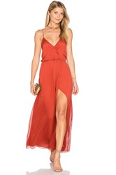 The Jetset Diaries Ara Maxi Dress Rust
