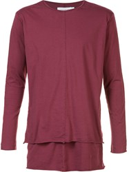 Daniel Patrick Long Sleeve Layered T Shirt