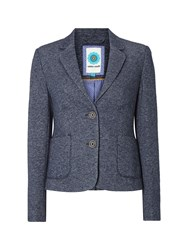 White Stuff Collage Blazer Blue