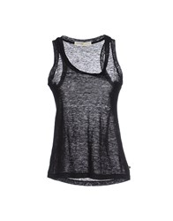 Ottod'ame Topwear Vests Women Black