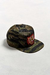 The Ampal Creative X Badweather Souvenir Tiger Hat Olive