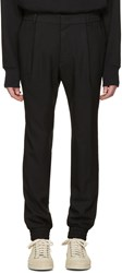 Juun.J Black Cuff Trousers