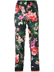 F.R.S For Restless Sleepers Floral Print Pants Blue