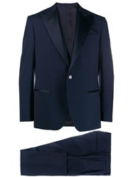 Bagnoli Sartoria Napoli Classic Two Piece Suit Blue